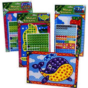 Do It Yourself Mosaic Sticker Picture Set