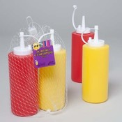 Mustard and Ketchup Dispensers Set Wholesale Bulk