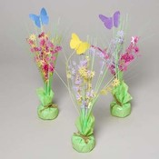 Floral With Butterfly Balloon Weight/Centerpiece Wholesale Bulk