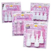 Novelty Wedding Bubbles 4 Pack