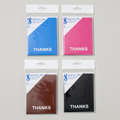 Thank You Cards - 8 Pack Wholesale Bulk