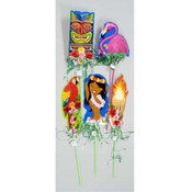 Luau Plastic Yard Sign Wholesale Bulk