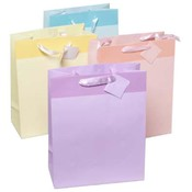 Large Pastel Colors Gift Bag