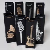 Musical Instrument Wine Gift Bag Wholesale Bulk
