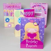 Girls Birthday Gift Bag Wholesale Bulk