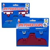 3 Pack Power Clips Wholesale Bulk