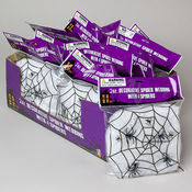 Spider Webbing With 4 Spiders 2 Oz. Bag