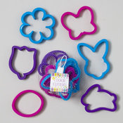 Plastic Easter Cookie Cutters 6 Piece Set
