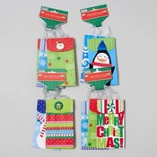 Small Christmas Gift Bags - 3 Pack Wholesale Bulk