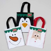 Felt Christmas Gift Bag Wholesale Bulk