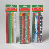 Christmas Pencil - 8 Count Wholesale Bulk