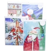 Christmas Card Jumbo 11&quot; X 8&quot;