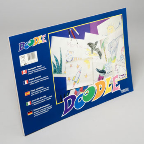 Doodle Pads White 36 count [1989977]