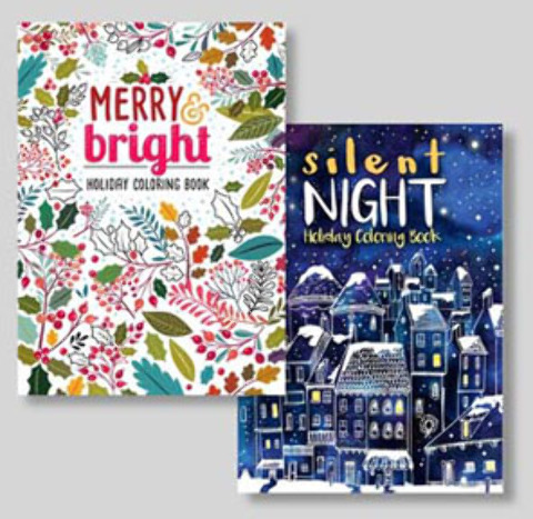 Adult CHRISTMAS Coloring Book (2124531)