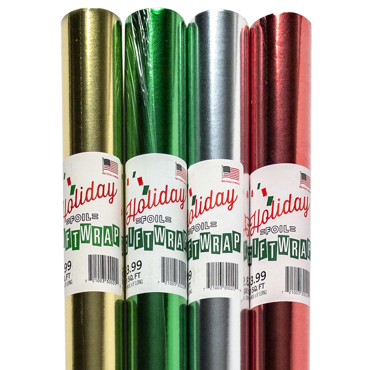 ''CHRISTMAS Foil Gift Wrap - 20f ft. x 30'''' [1869975]''
