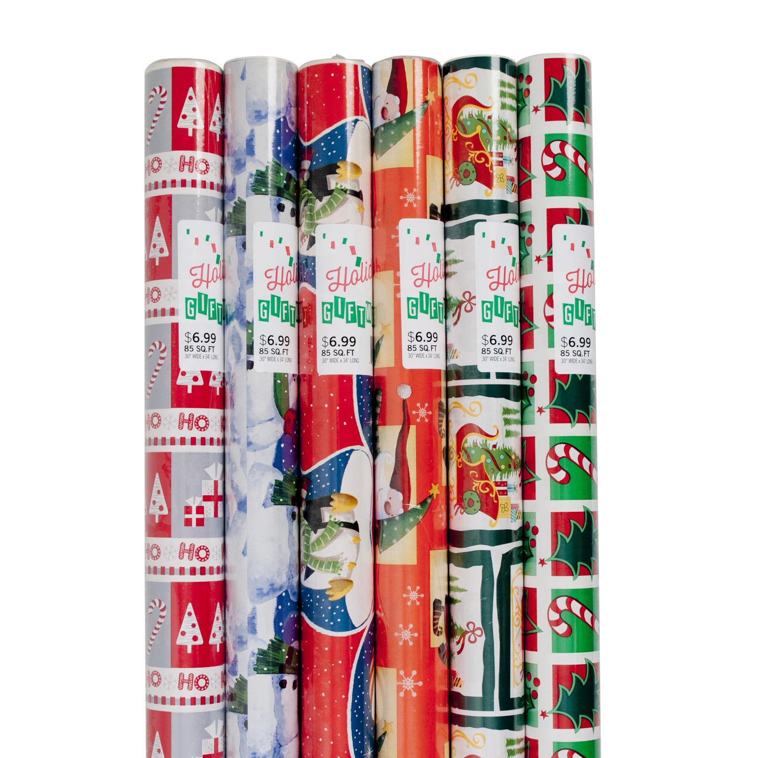 CHRISTMAS Gift Wrap 85 Sq. ft. (414355)