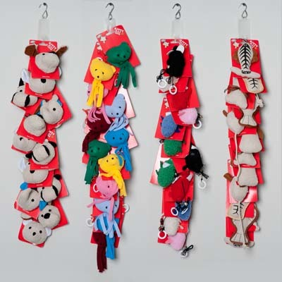Assorted Cat TOYS on Merchandise Strip [1336374]