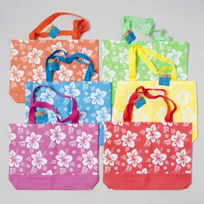 Hibiscus Print BEACH Tote BAG [1797875]
