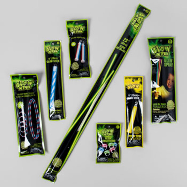 wholesale 250pc glow stick floor display sku 2123853