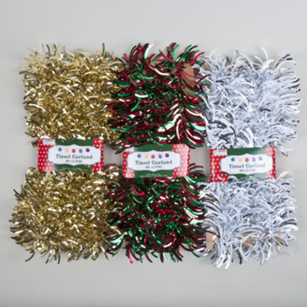 Wholesale christmas garland felt laser cut sku
