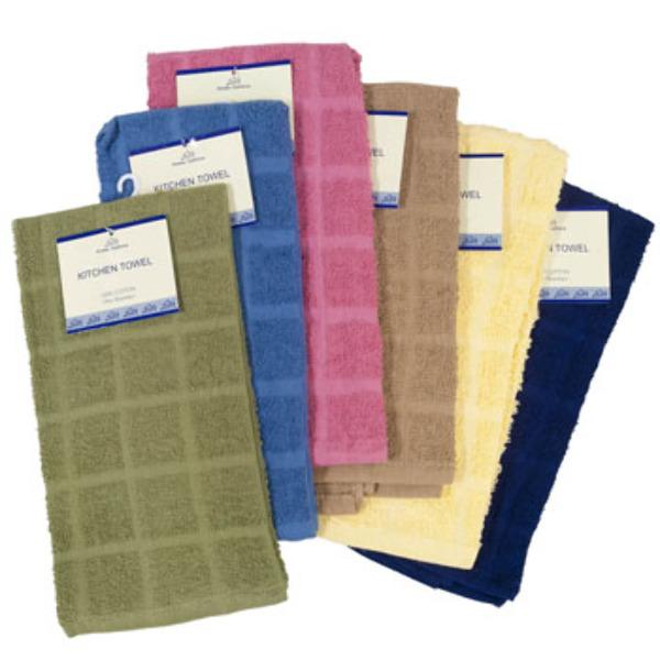 "Bulk Dish Towels For Sale: 15"" X 25"" (SKU 2280162) DollarDays"