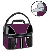Polar Pack 30'' can lunch box w/ top compartment in assorted colors.