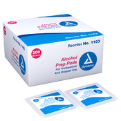 Alcohol Prep Pads 2000/cs Wholesale Bulk