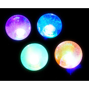 65mm Light Up Water Glitter Ball