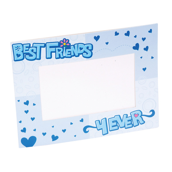 wholesale 4x6 cardboard best friends photo frame sku 422800 dollardays