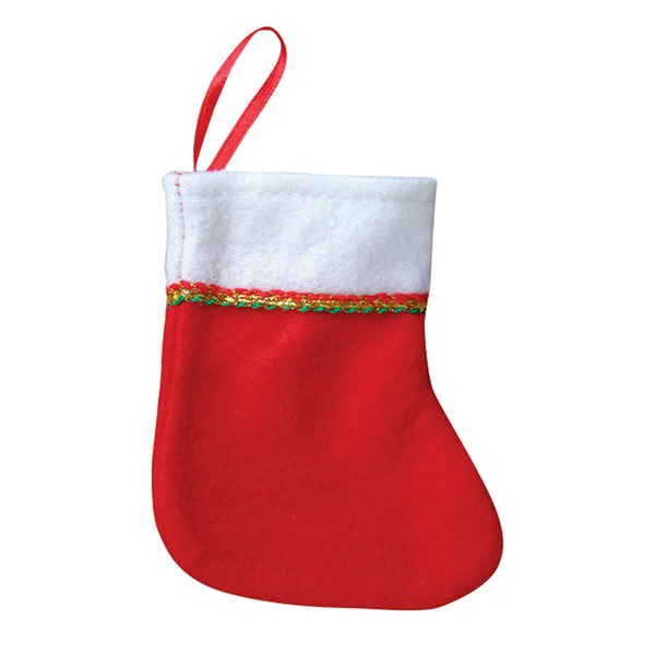 wholesale 4 mini christmas stockings sku 423826 dollardays