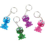 "1.5"" Acrylic Frog Key Chain"