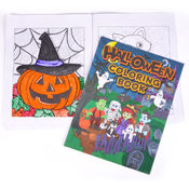 8&quot; X 11&quot; 12 Page Halloween Coloring Book