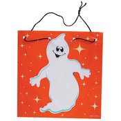7.75&quot; Ghost Drawstring Goody Bag