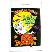 "Trick Or Treat Halloween Loot Bag: 11"" X 17"""