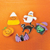 2.75' Assorted Halloween Pin Wholesale Bulk