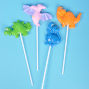"Dinosaur Lollipop With 4"" Stick"