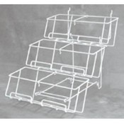 3-Tier Counter Rack (White)