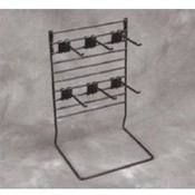 Multi Rack W/6 Hooks (Black)