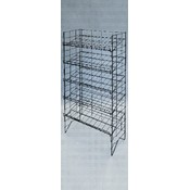Adjustable 5-Tier Wire Shelf Display Rack Wholesale Bulk