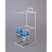 4 Peg Counter Rack (White)