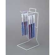 2-Peg Counter Rack (White)