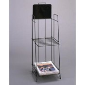 Tabloid Display Rack (Black)