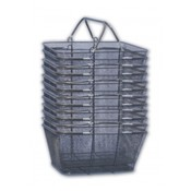 12 Pc. Wire Mesh Basket Set (Black) Wholesale Bulk