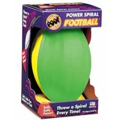 Slinky Poof Foam Power Spiral 8 1/2' Football In Box Wholesale Bulk