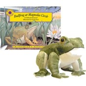 Smithsonian Institute-Bullfrog at Magnolia Circle