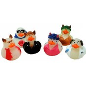 Halloween Costumed Rubber Duckies - Glow In The Dark