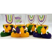 Mardi Gras Character Shot Glass