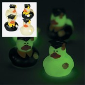 Mini Glow in the Dark Graduation Ducks