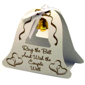 Wholesale Wedding Bell Table Topper Gold
