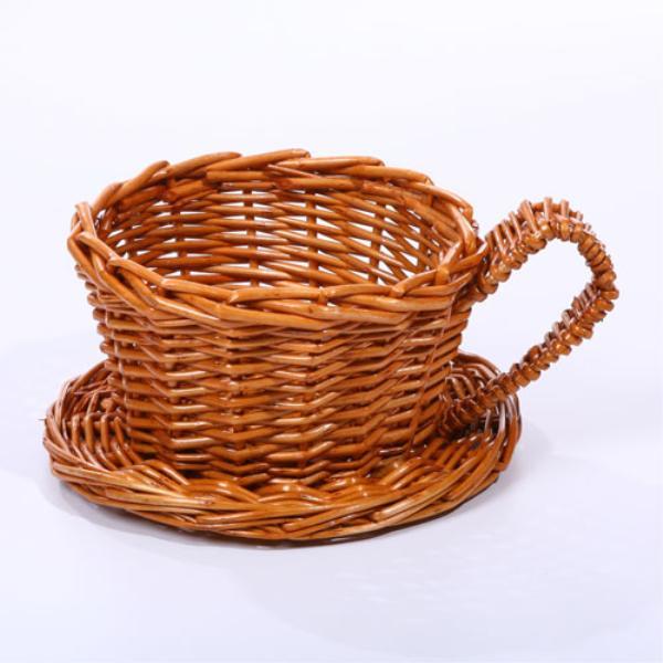 Wholesale Tea Cup - Wicker Basket (SKU 533407) DollarDays